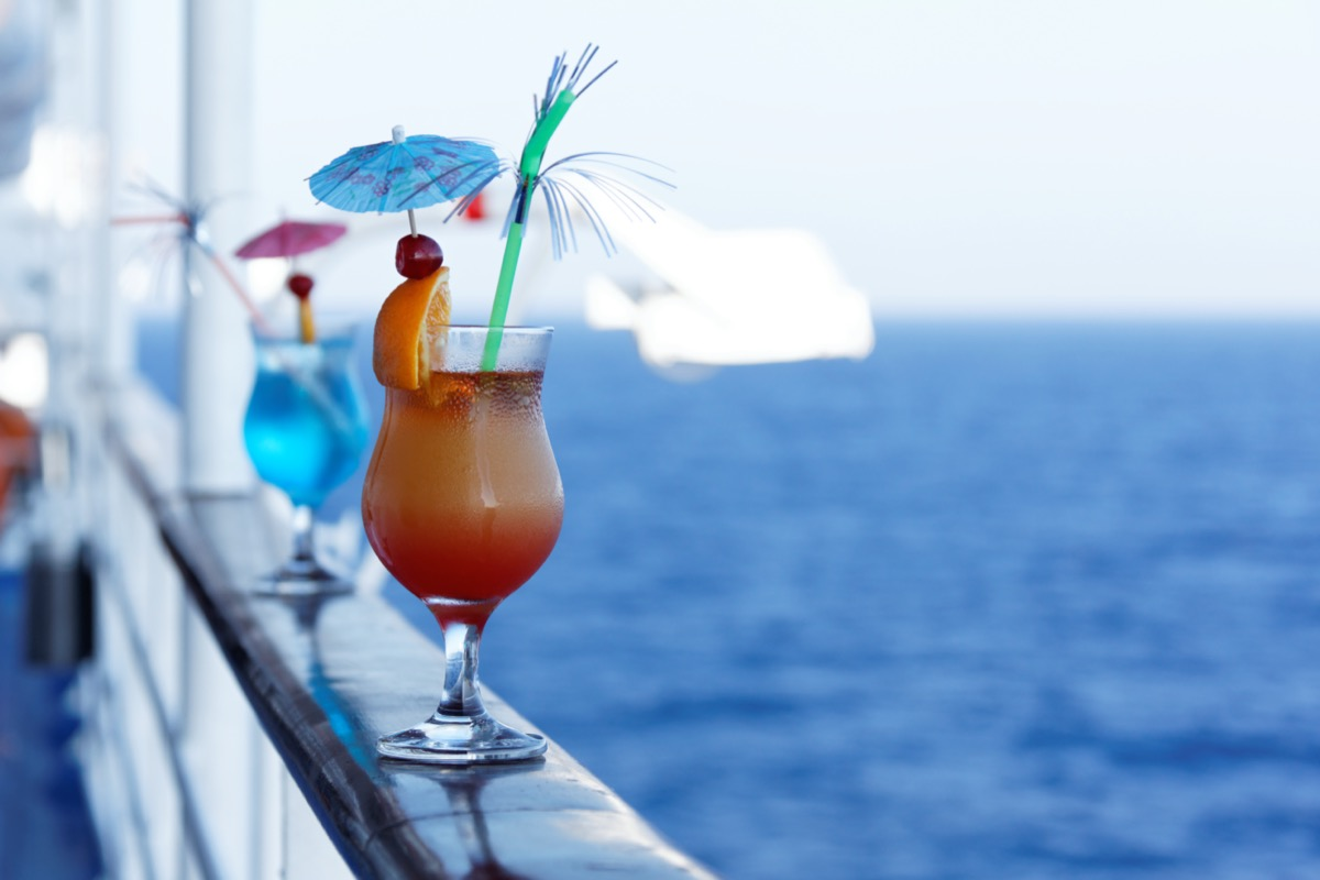cocktails on cruise