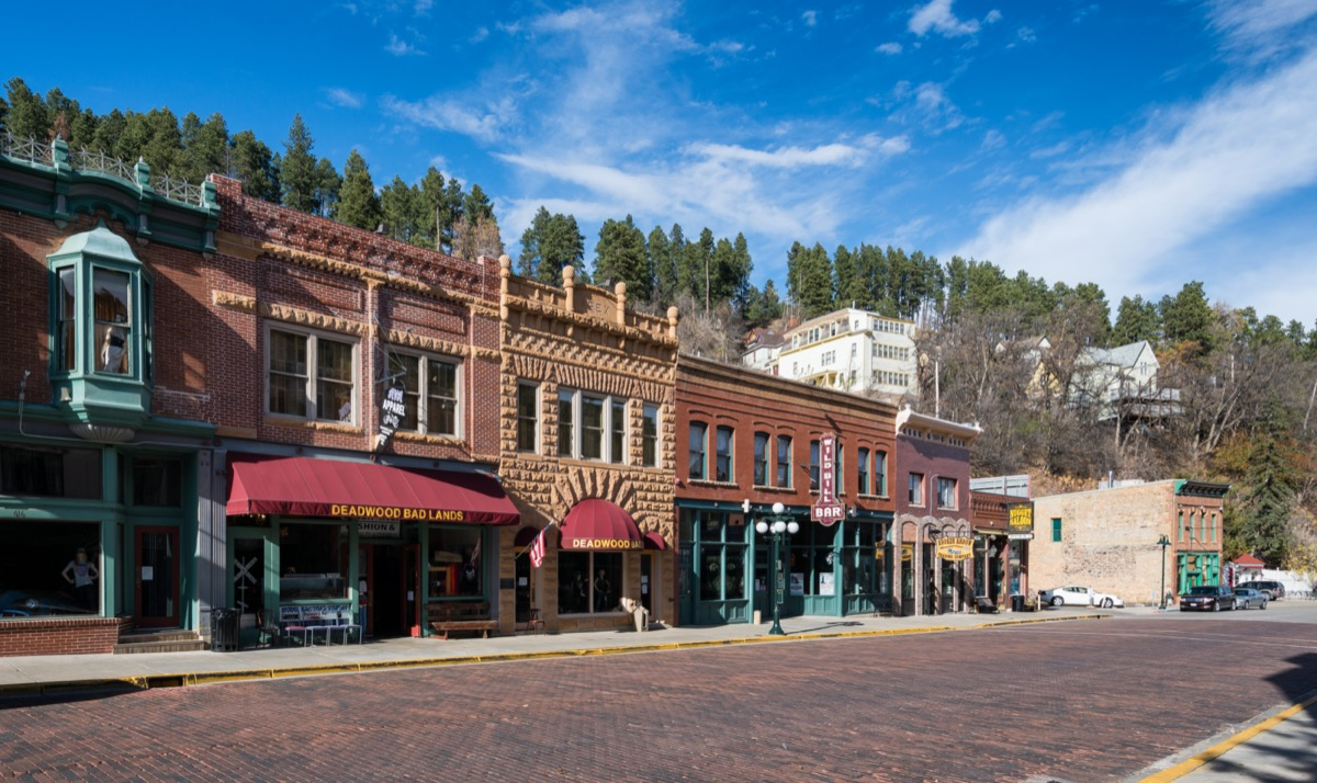 main street in deadwood south dakota