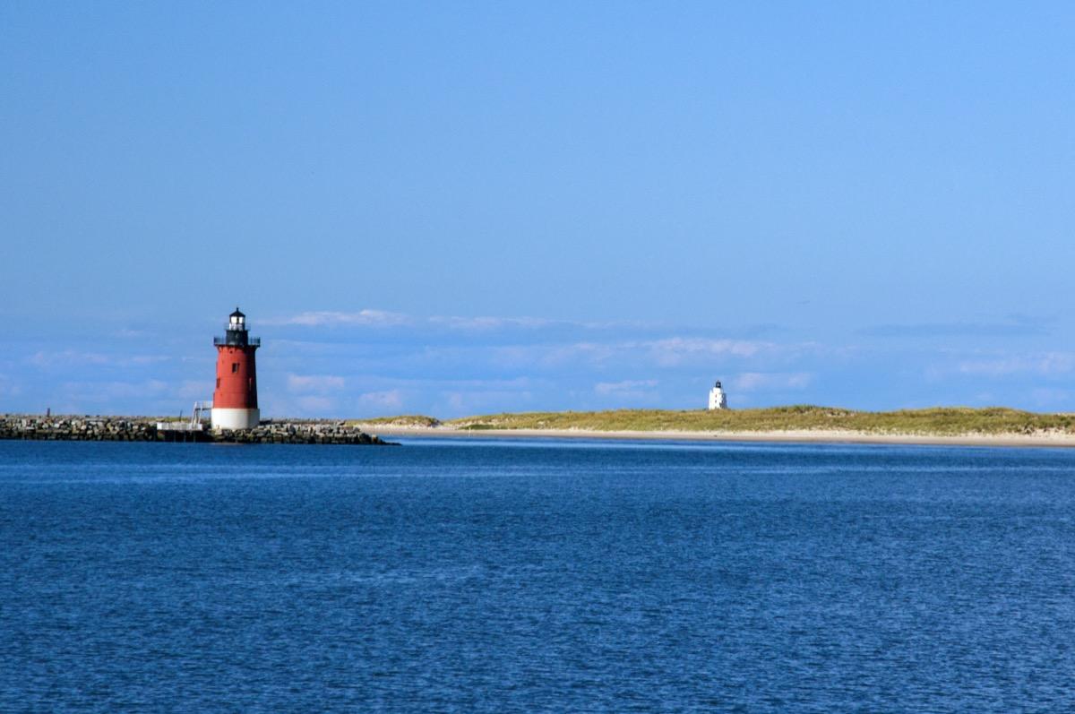east end lighthouse on Delaware Bay at Lewes, Delaware