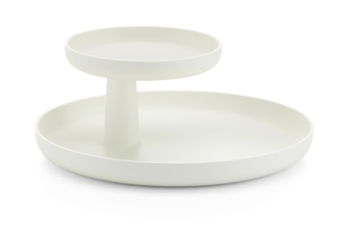 white desk tray