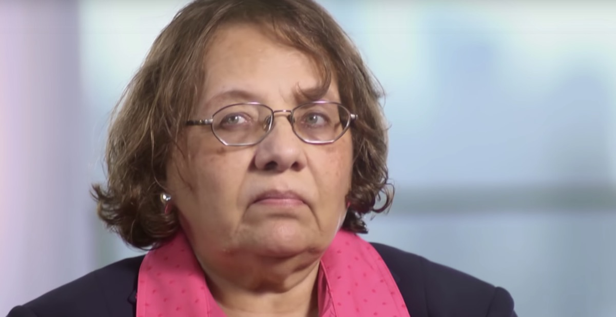 diane nash civil rights leader giving an interview
