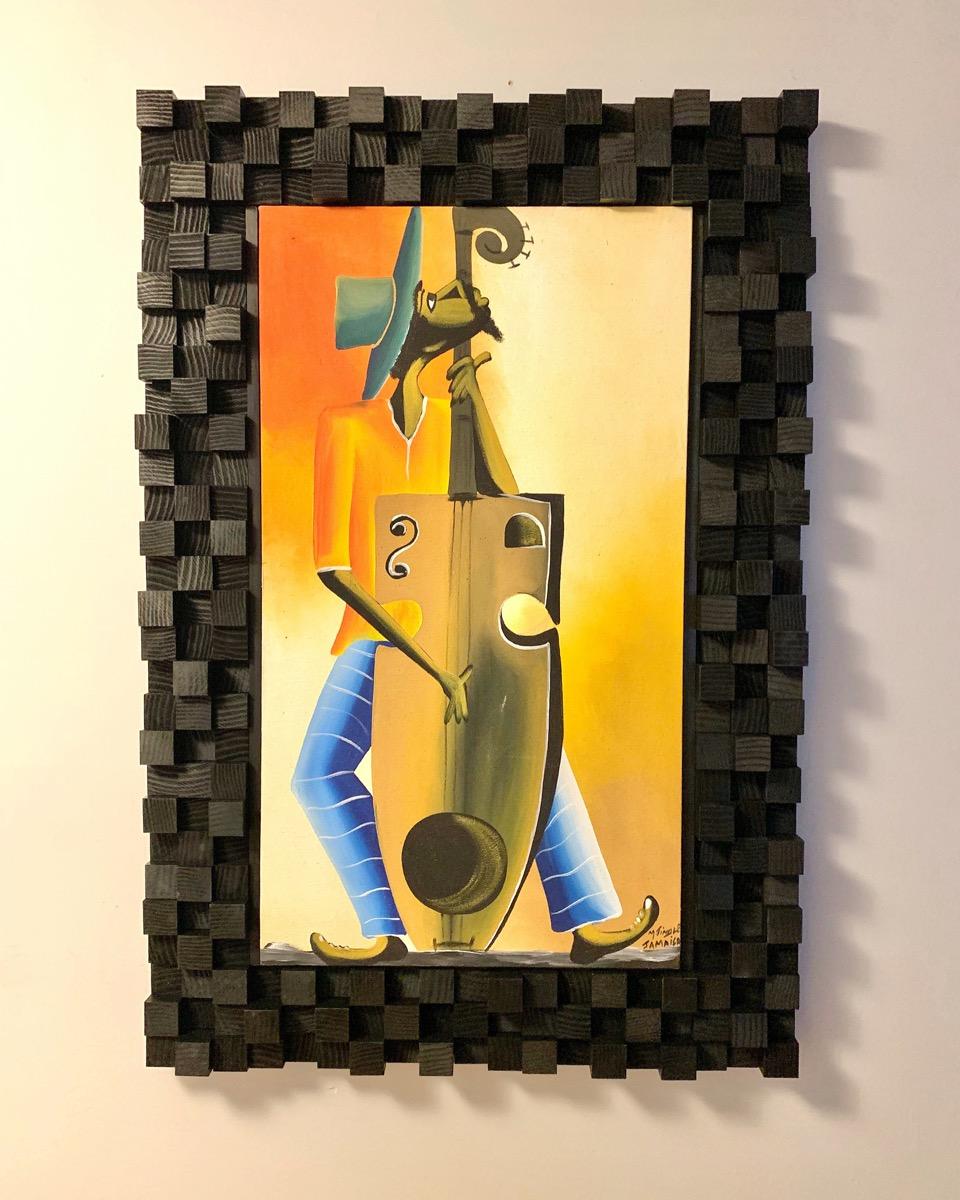 acoustic tile frame