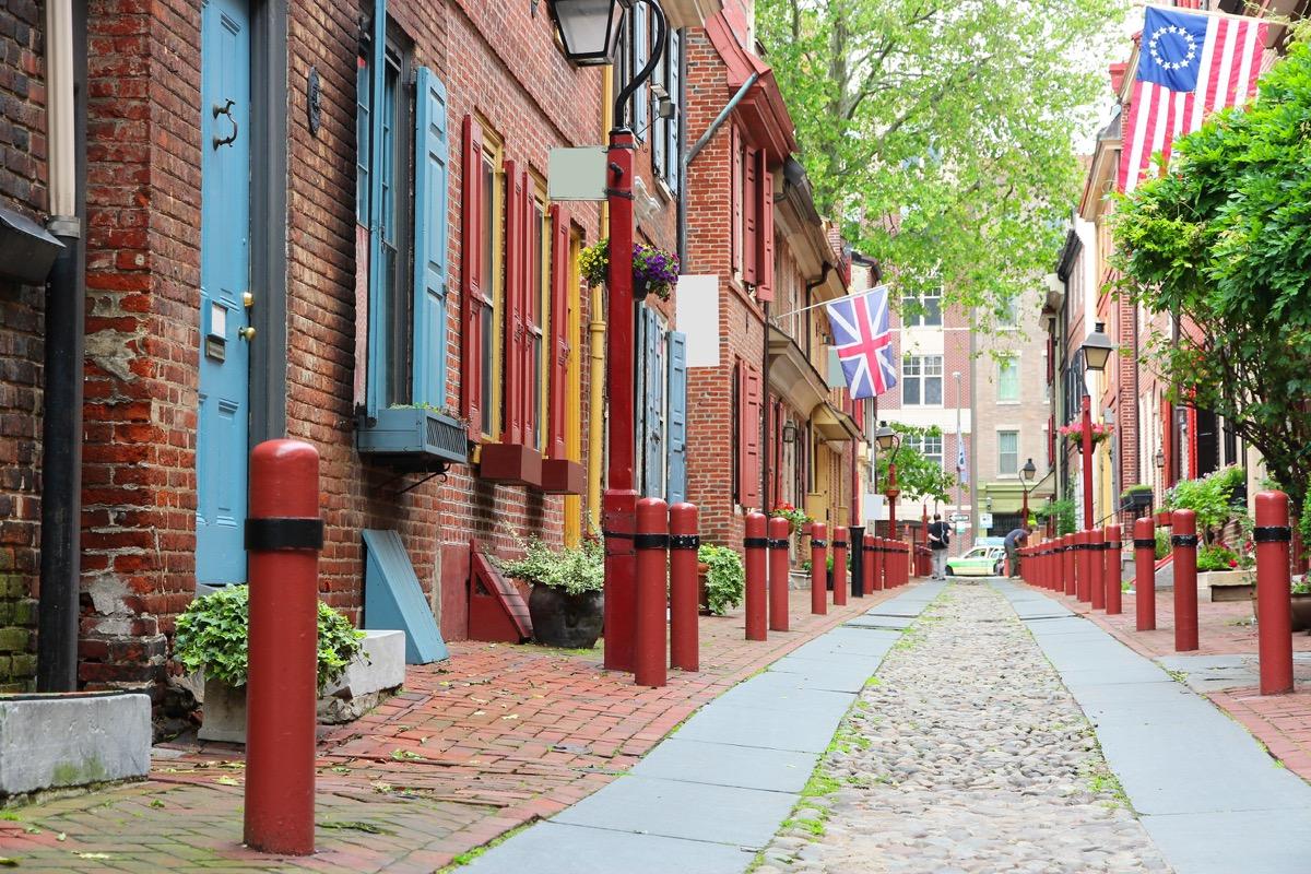 elfreth alley philadelphia