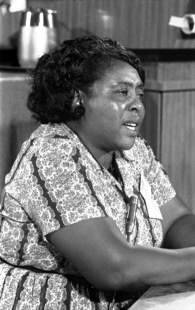 fannie lou hamer photo, hidden civil rights figure