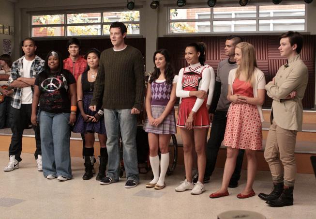 Still from Glee show