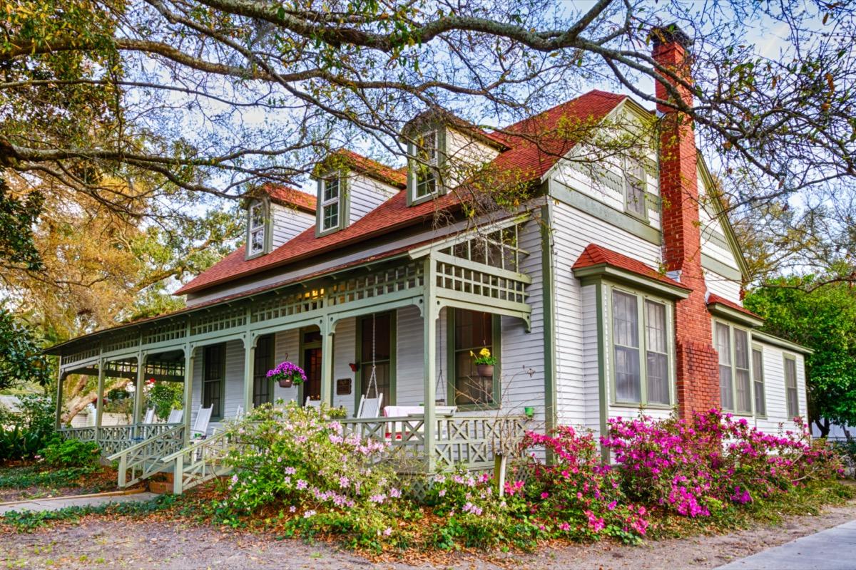 house with a veranda in florida
