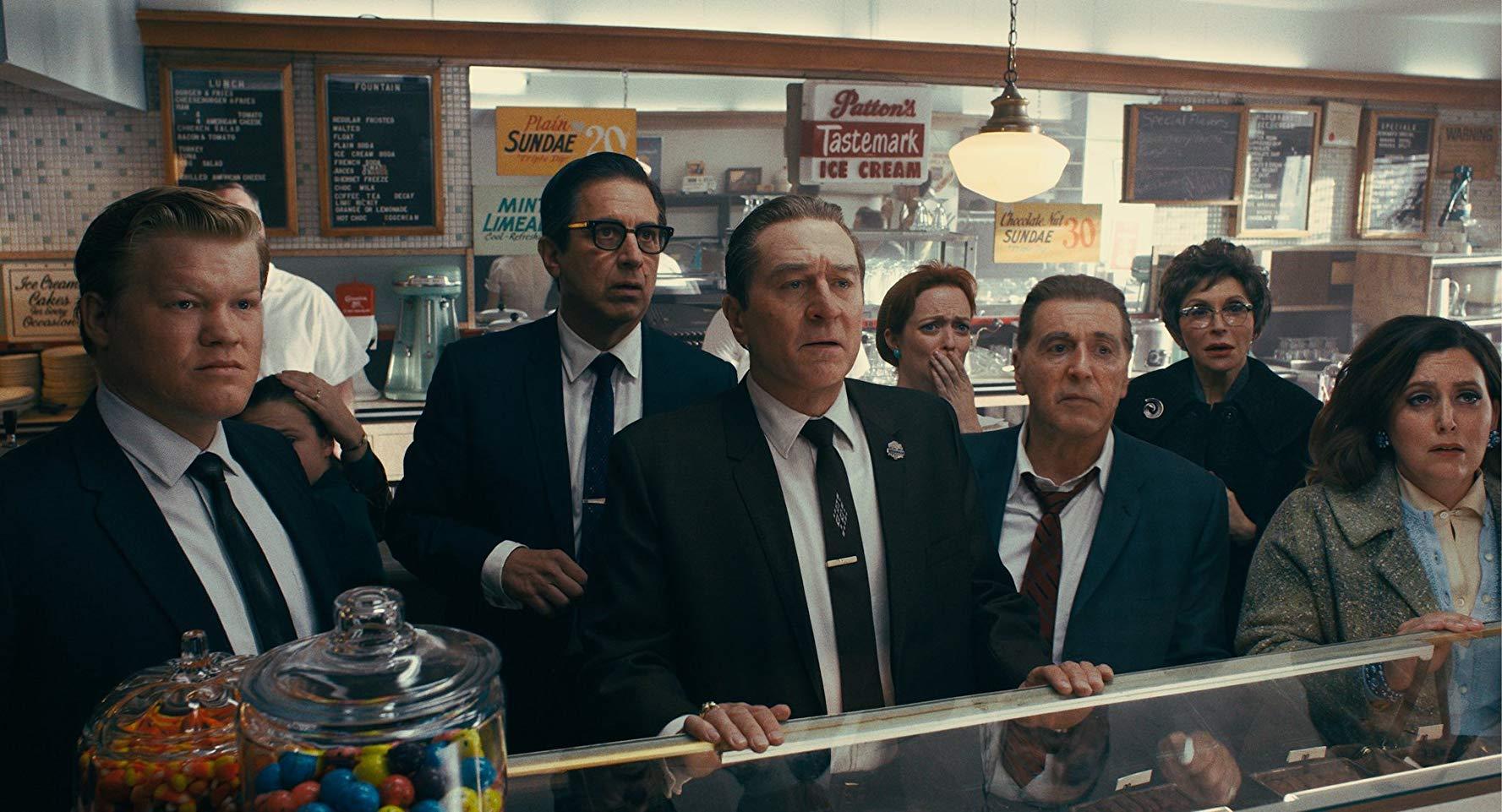 Still from movie The Irishman
