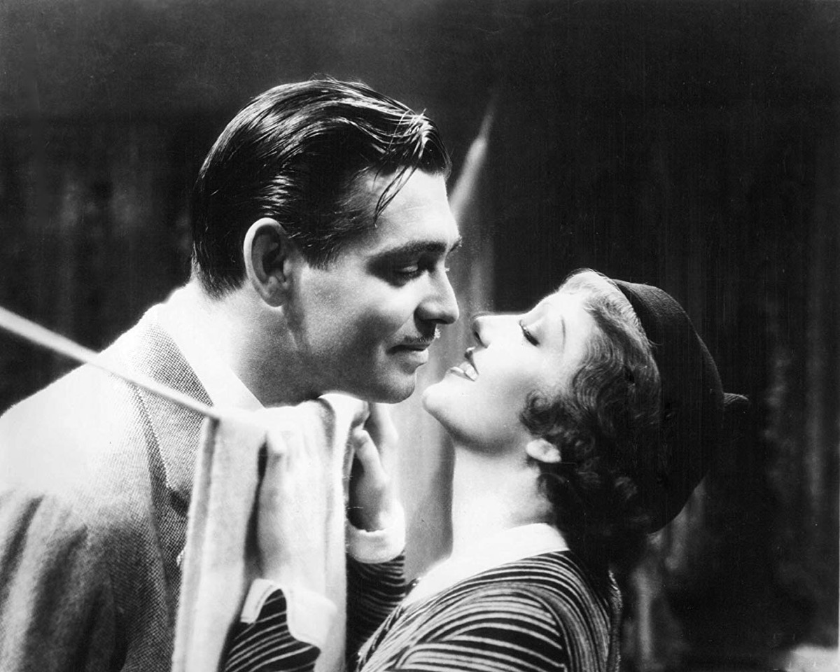 Production shot from the film It Happened One Night