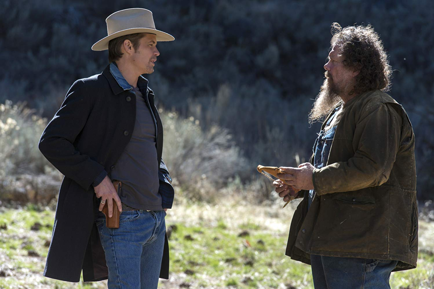 Still from Justified show
