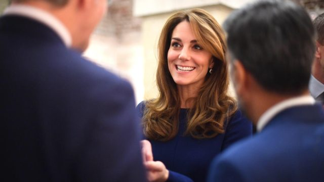The Duchess of Cambridge Kate Middleton attends the launch of the National Emergencies Trust at St Martin-in-the-Fields in Trafalgar Square, London in Nov 2019