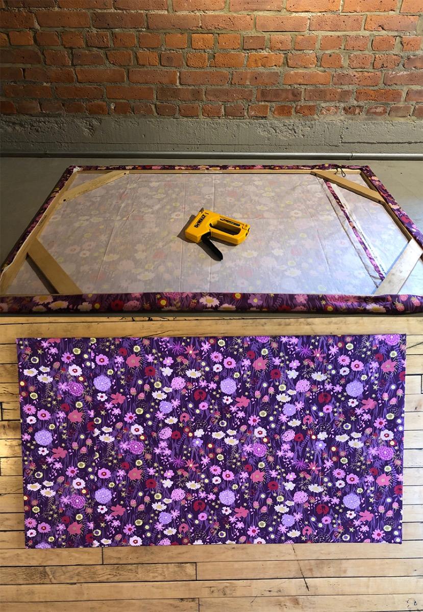 floral board wall art
