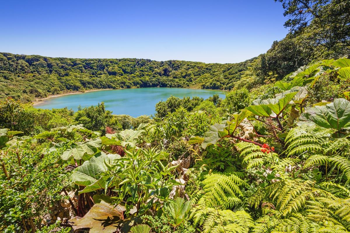 lake near poas volcano in costa rica