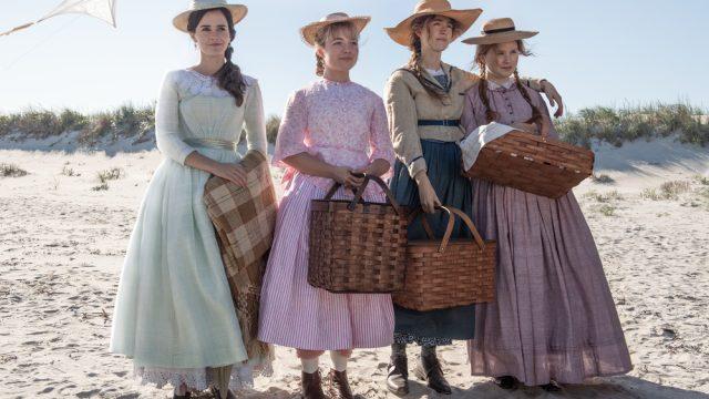 Still on the beach from the movie Little Women