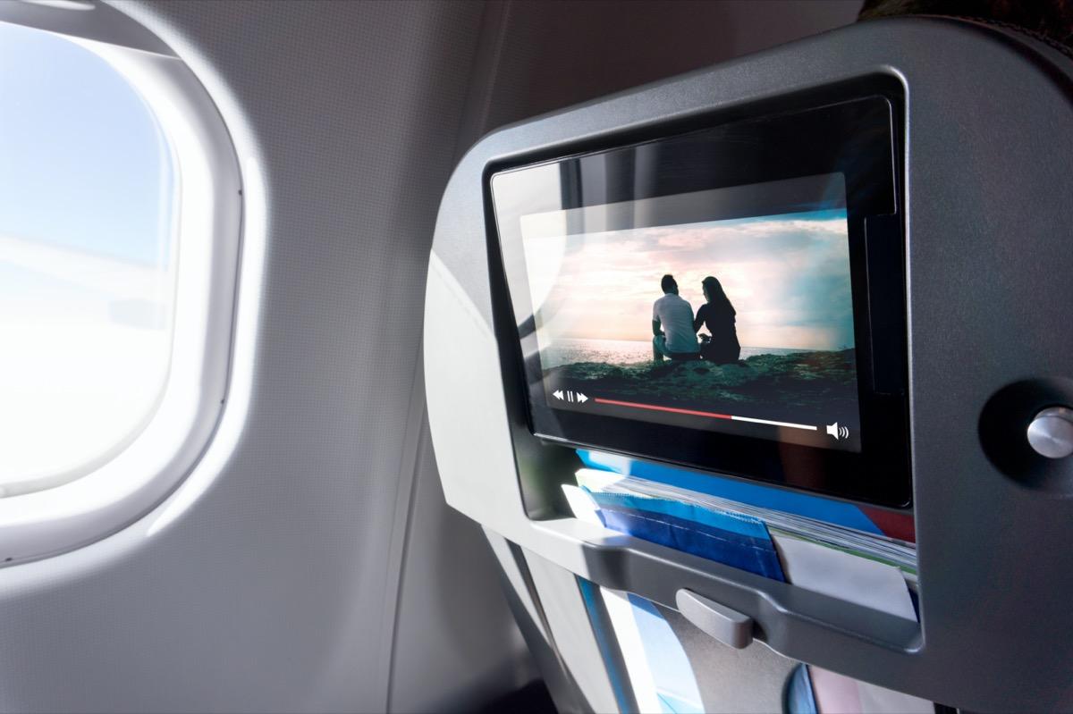 movies on plane