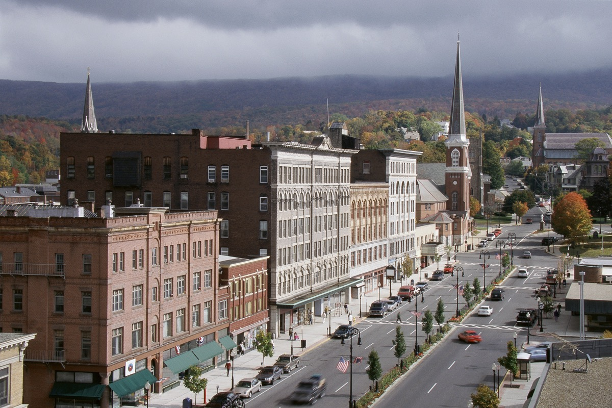 overview of north adams Massachusetts