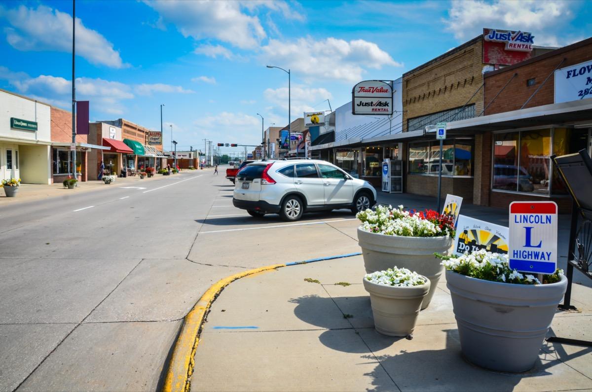 main street in ogallala nebraska