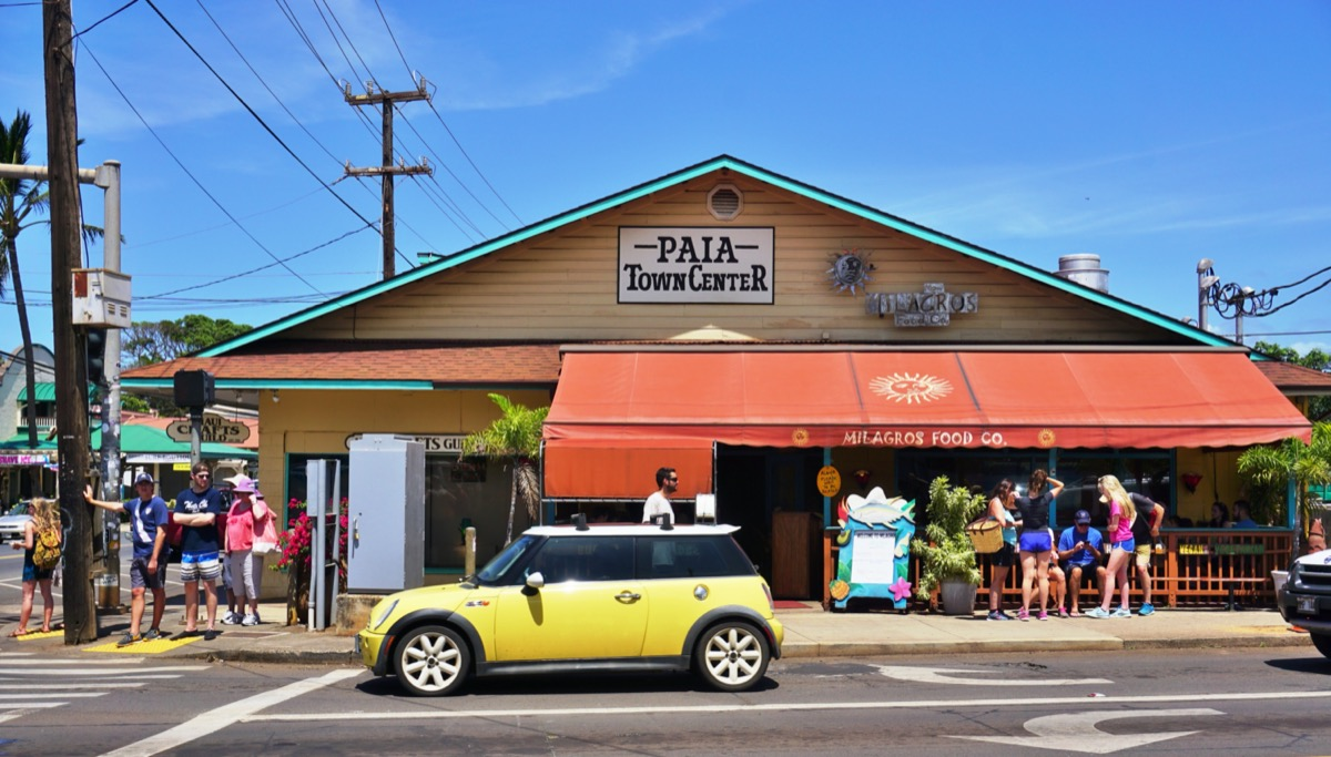 wind surfing capital of the world paia hawaii