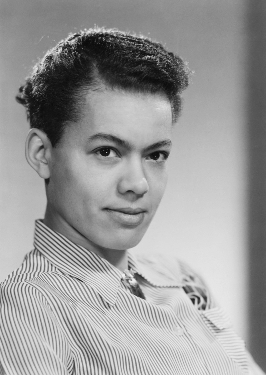 portrait of Pauli Murray (1910-1985) was a friend of Eleanor Roosevelt and served on JFK's President's Commission on the Status of Women.