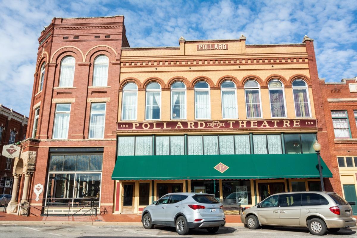 the pollard theatre in guthrie ok