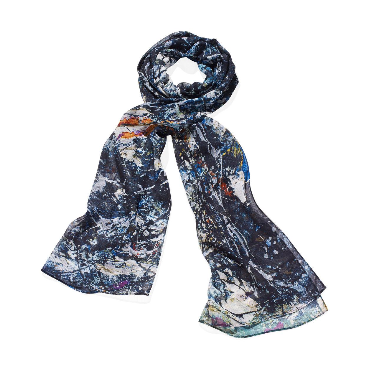 Jackson Pollock scarf