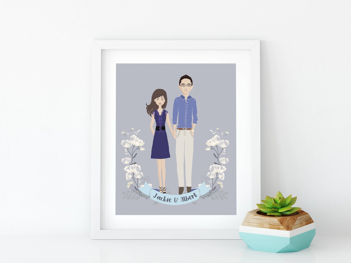 custom couples print