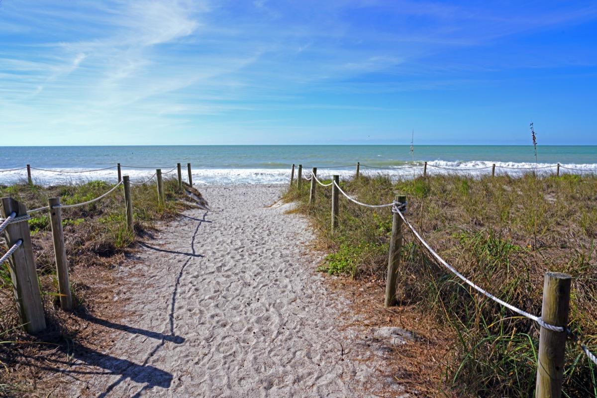 beach on captiva island florida