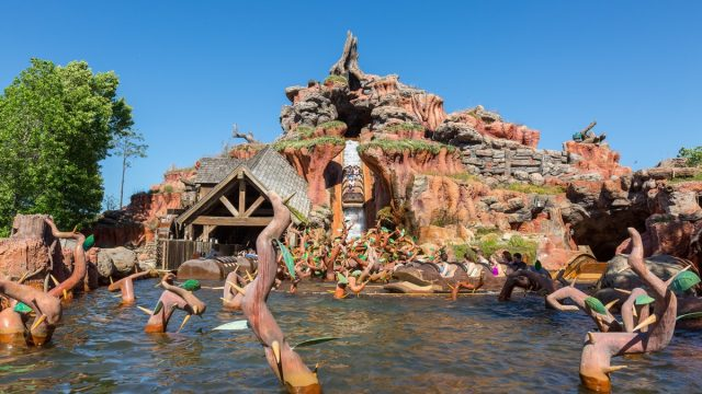 Splash Mountain ride Disney World