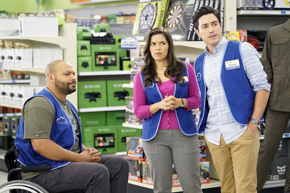 Still from Superstore show