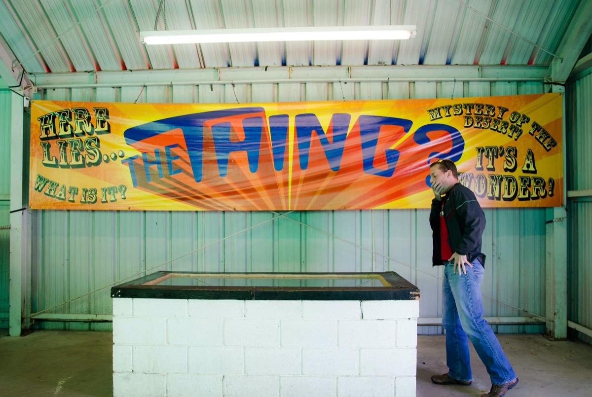 man shocked looking at 'the thing?' arizona
