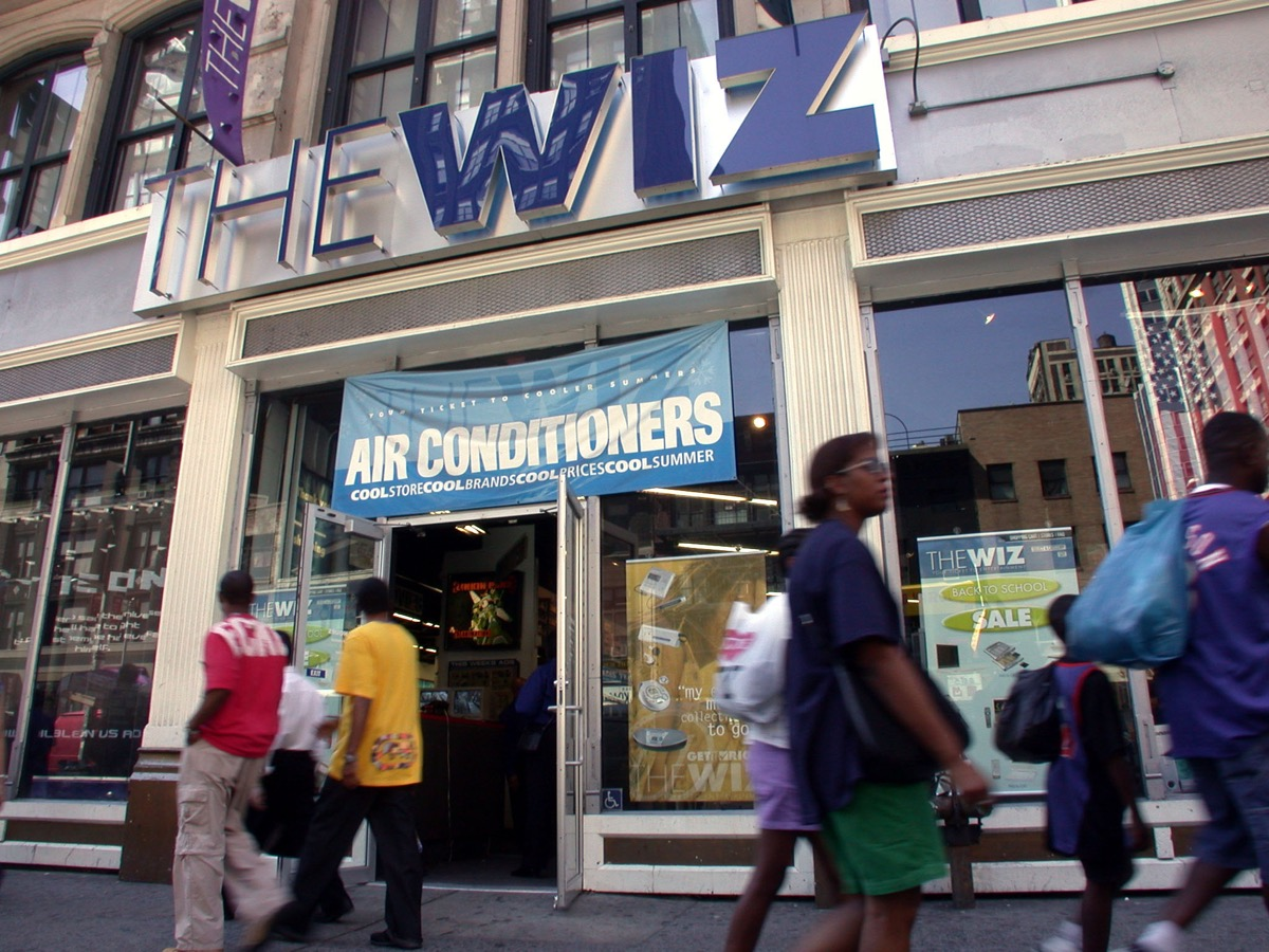 The Wiz store front