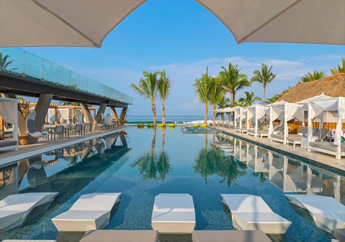 backdrop of w punta de mita mexico hotel