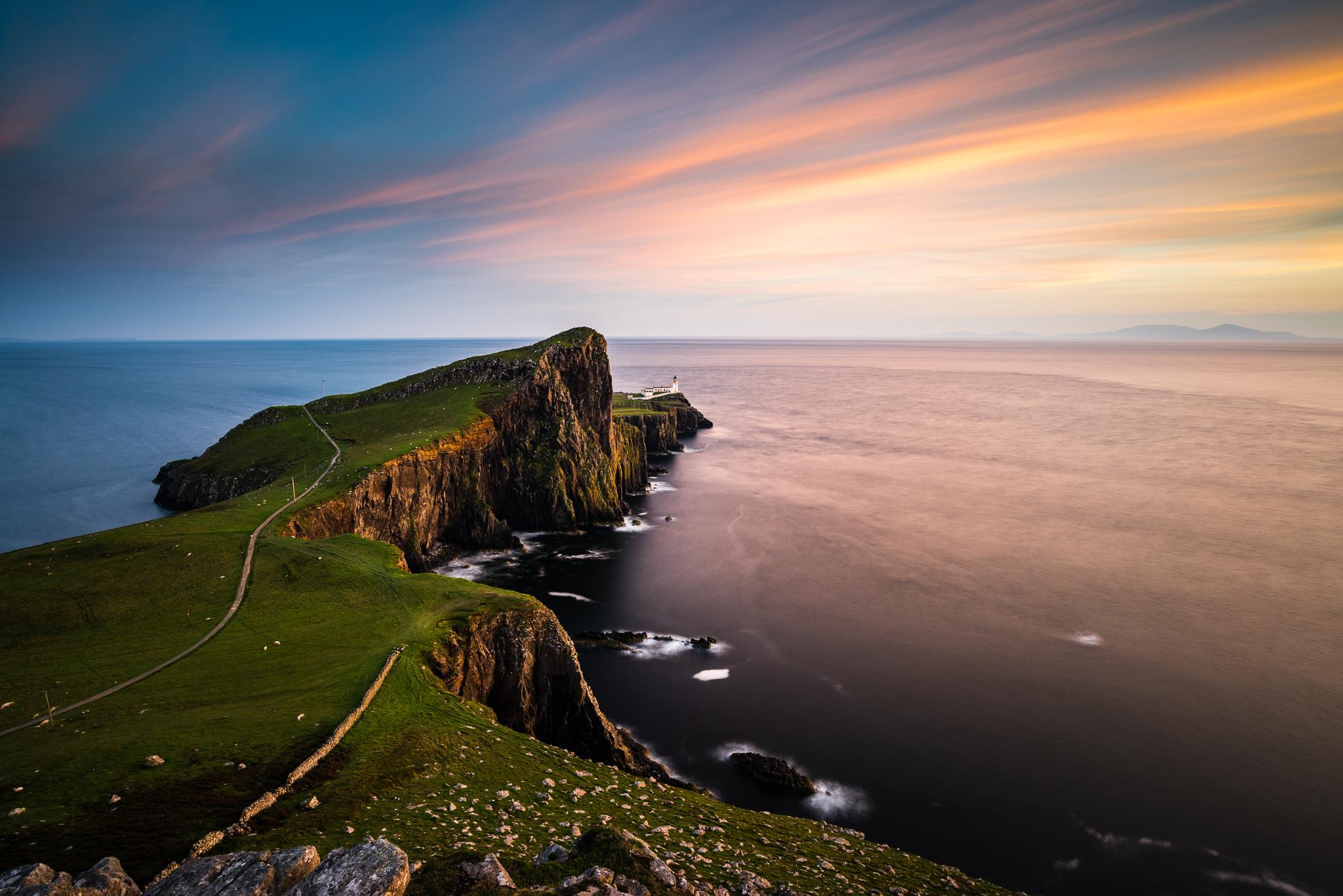 historic scottish lighthouse travel photos