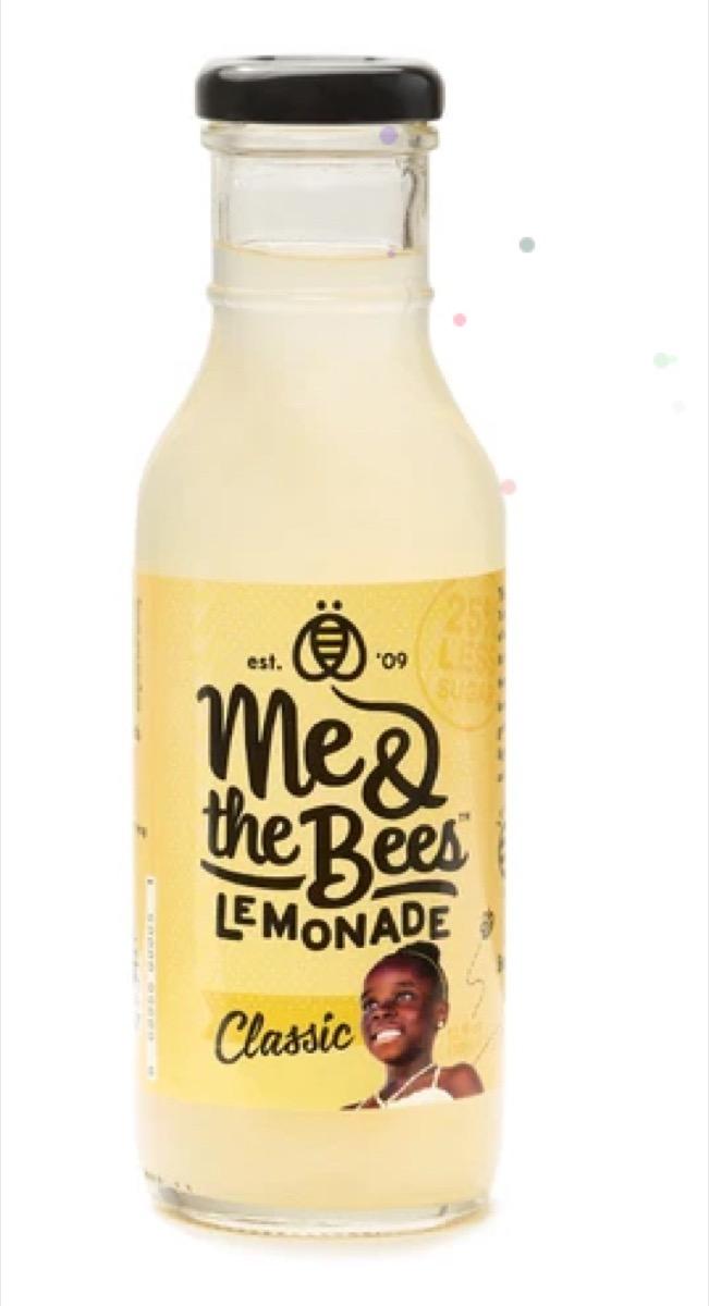 bottle of lemonade