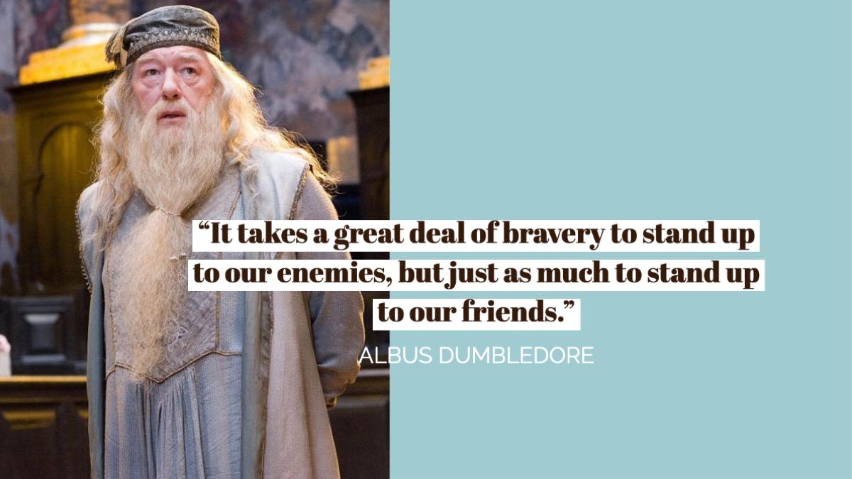 Albus Dumbledore Harry Potter Quote