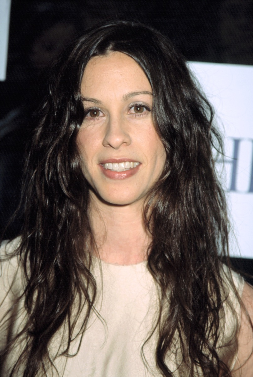 Alanis Morissette in the early 2000s