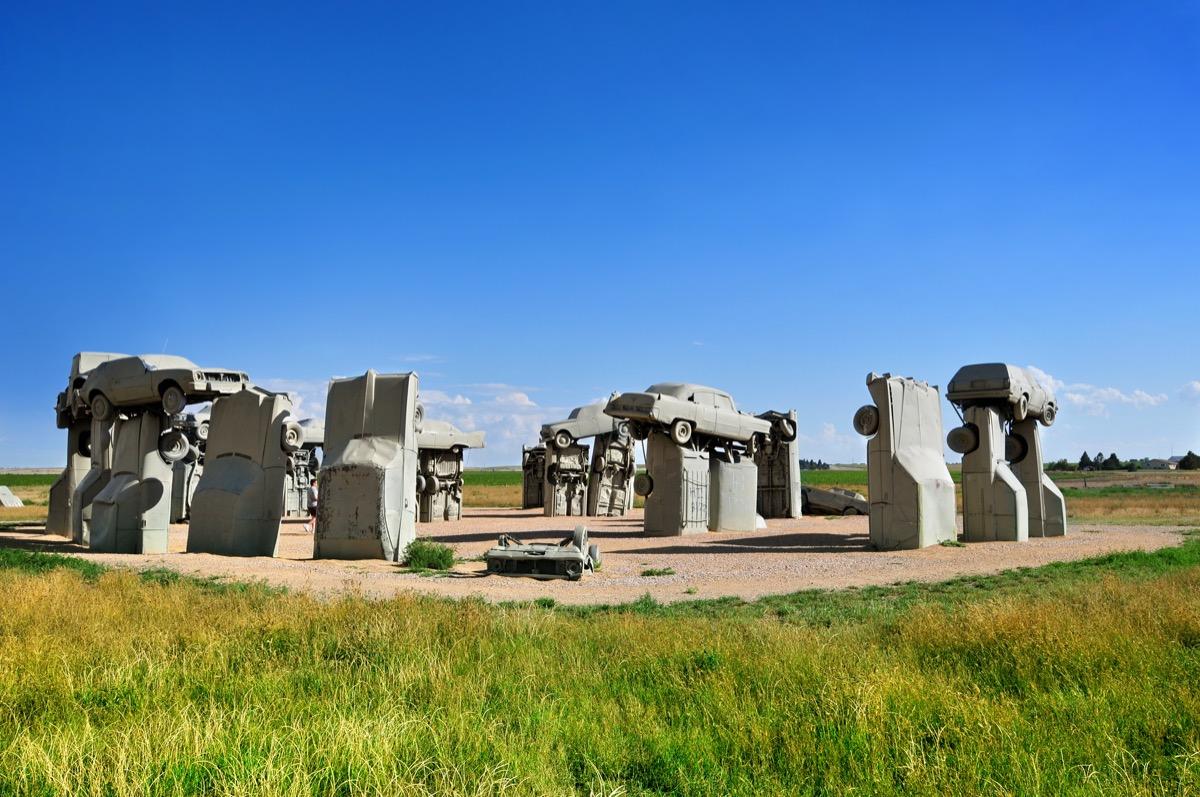 the famous carhenge in Alliance Nebraska
