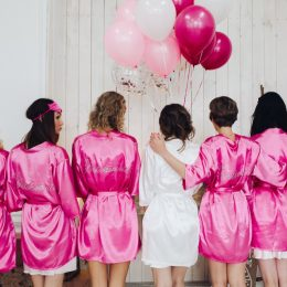 Bridal shower pajama party