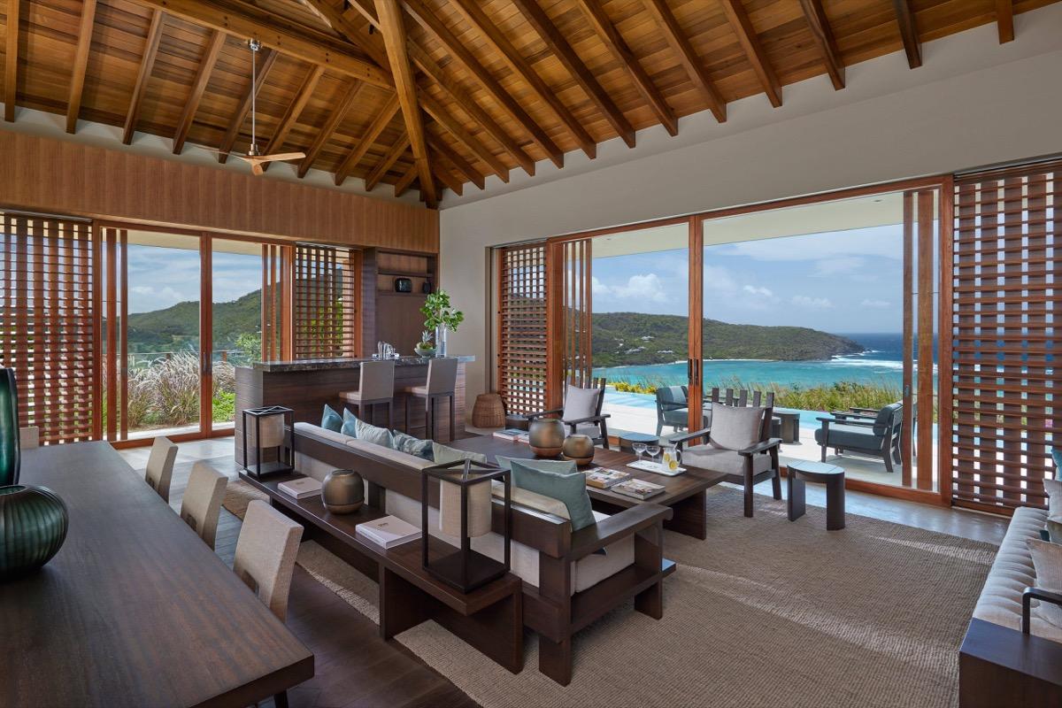 patio villa at mandarin oriental canuoan