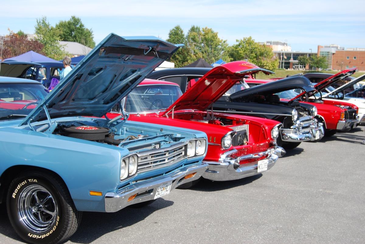 Classic car hot rod show