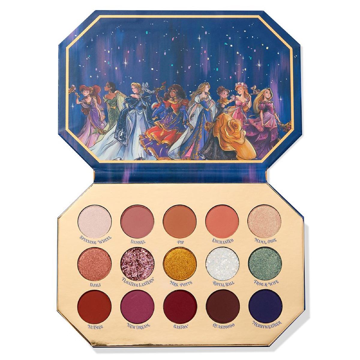 ColourPop Disney eyeshadow palette