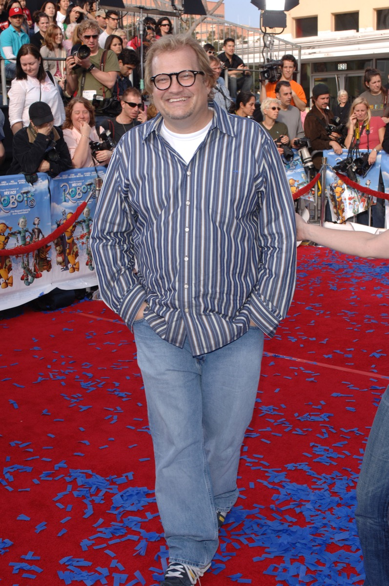 Drew Carey on the red carpet in 2005