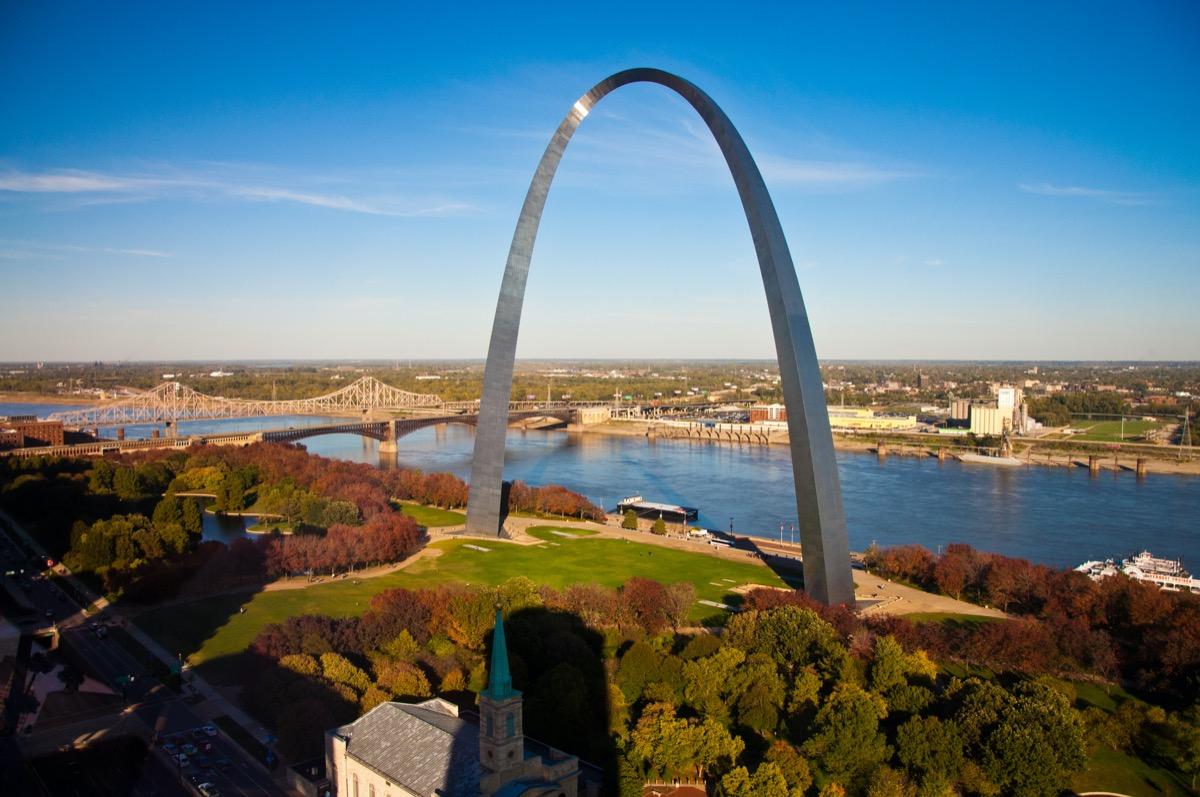 Gateway Arch in St. Louis MO