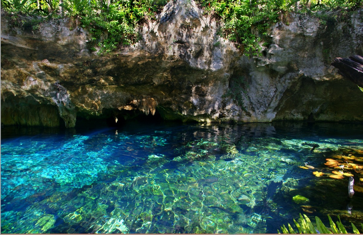 grand cenote mexico clear water