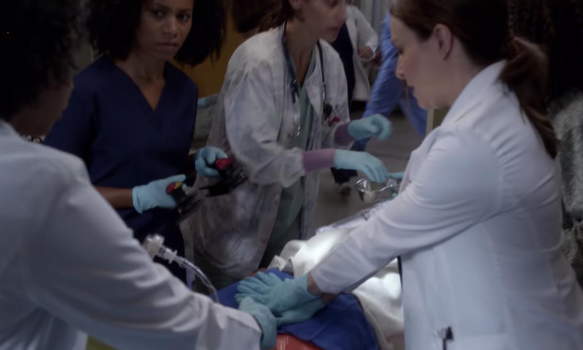 grey's anatomy CPR scene