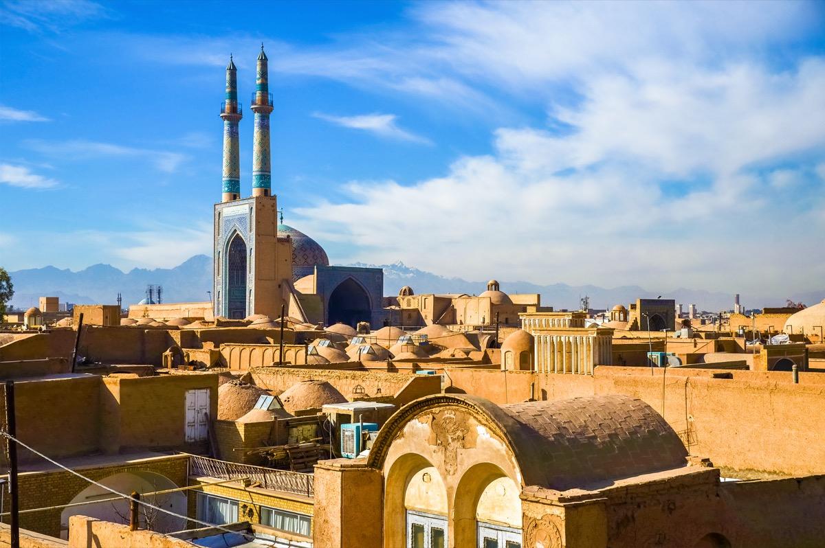 historic city center of yazd