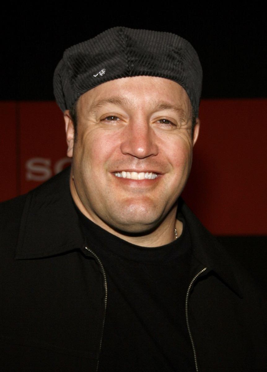 Comedian Kevin James in 2006