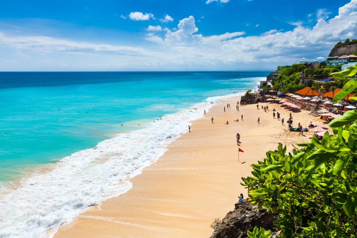 dreamland beach kuta bali