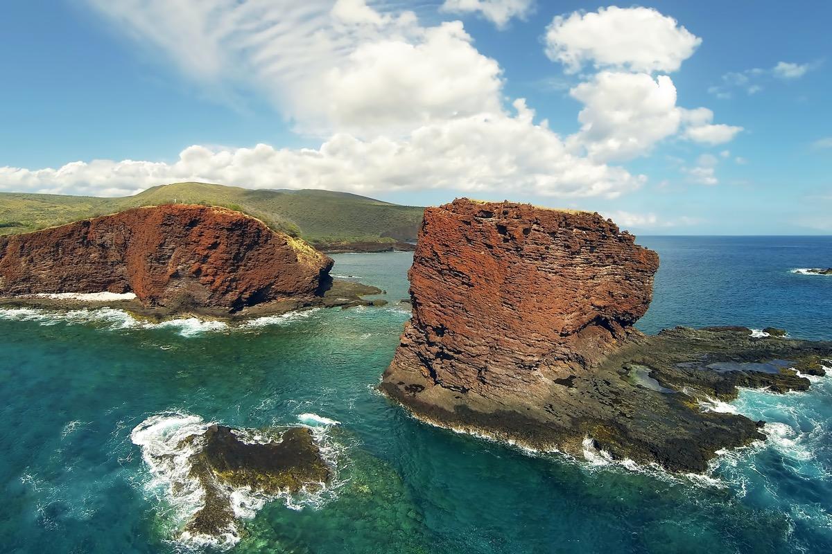 Puupehe (Sweetheart RocShark's Bay Island of Lana'i Hawaii