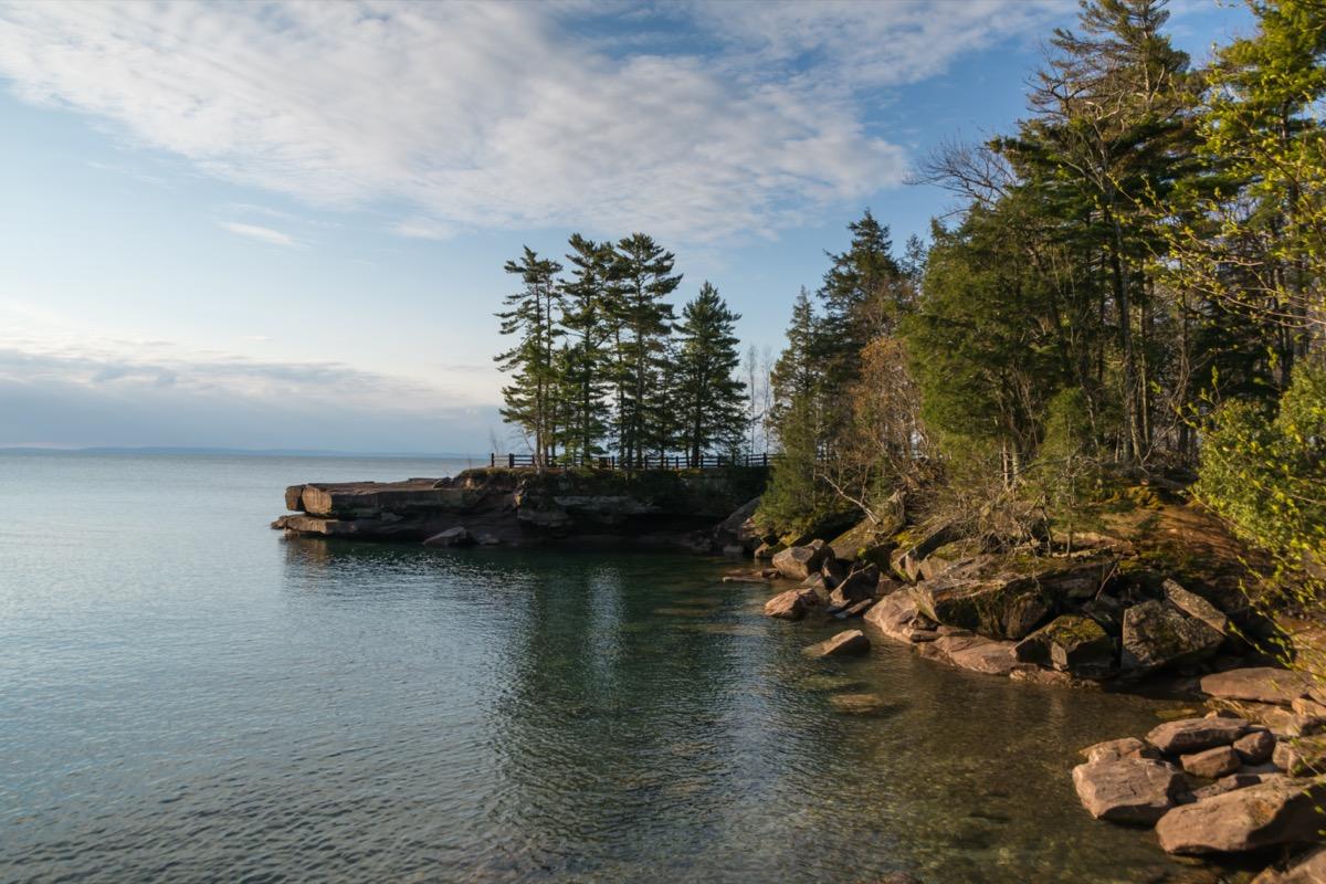 madeline island coast Wisconsin