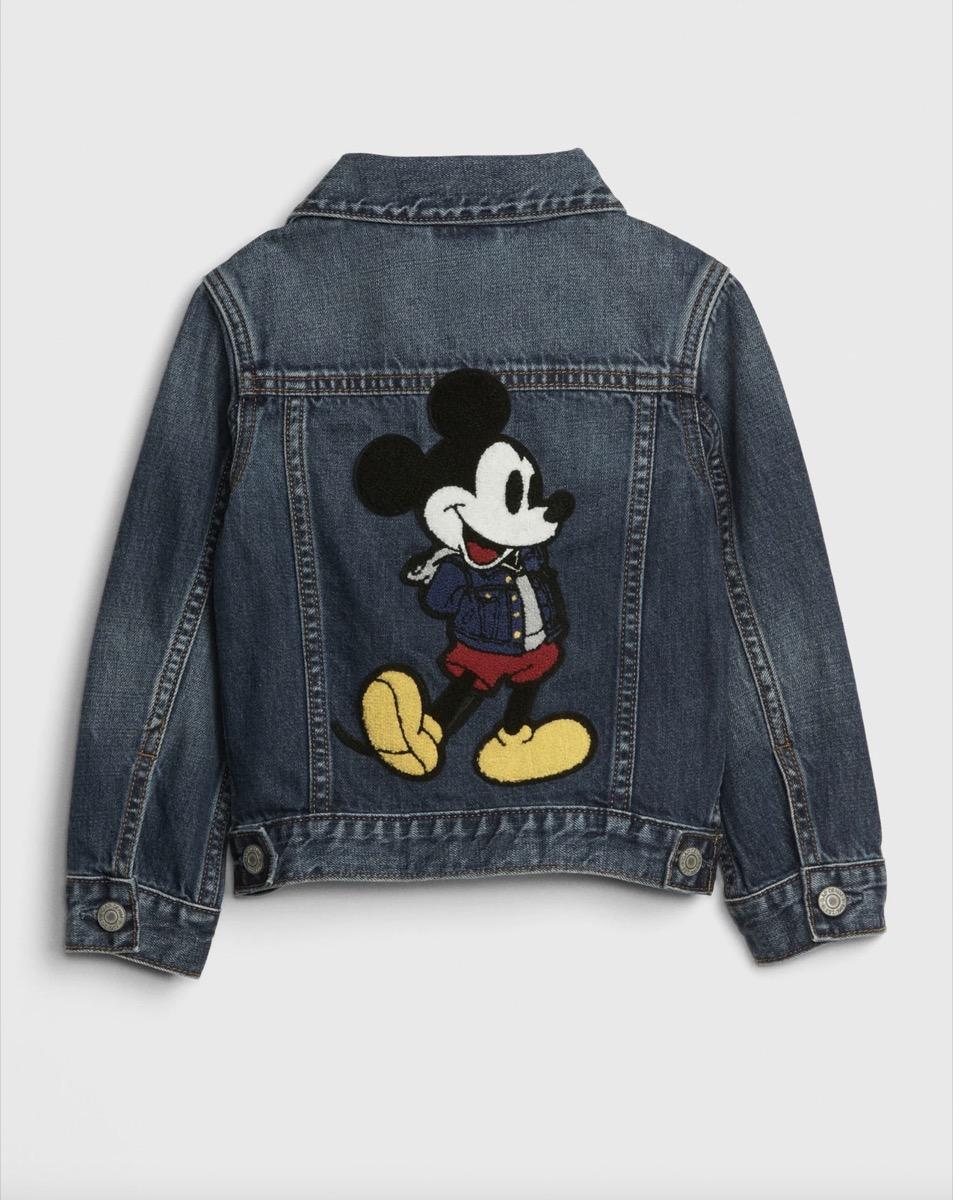Mickey denim jacket kids